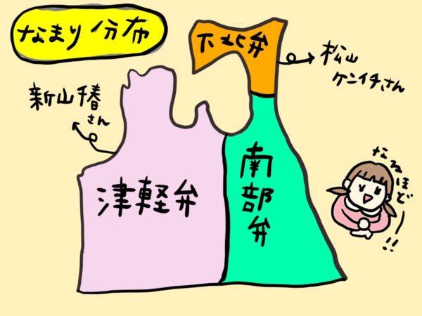 津軽弁について調べてみた。