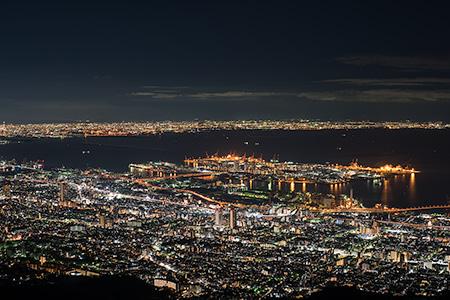 日本三大夜景について調べてみた。